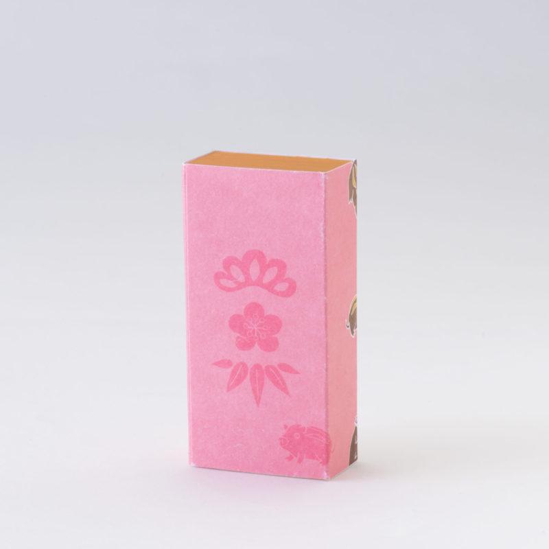 かきつけ【ピンク猪】/干支シリーズ